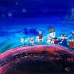 Polish Fairy Tale, oil, 80 cm x 60 cm; £ 3,600