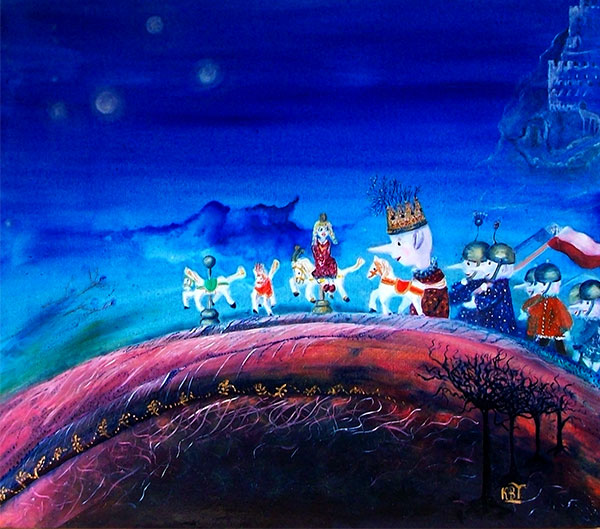 Polish Fairy Tale, oil, 80 cm x 60 cm; £ 3,600
