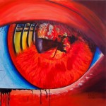 In the eye of the beholder - acrylic, 100 x 100 cm; € 2.700