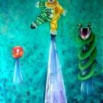 This is not a Paradise, oil on canvas, 100 x 60 cm; £ 2,500