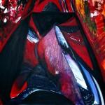 The Boltzmann Brain, Acrylics on canvas;  120 x 100cm -  ask!