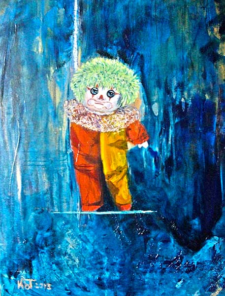 To Be Or Not To Be - oil 52 x 42 cm; £ 500