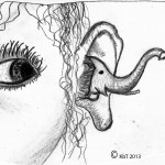 An elephantine ear